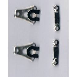Trousers hook and bar (2 sets)
