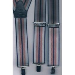 Bretelles hommes à pinces clips XL- XXL