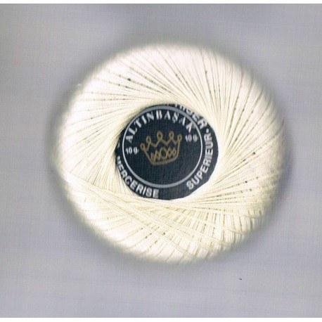 Coton à repriser blanc cassé