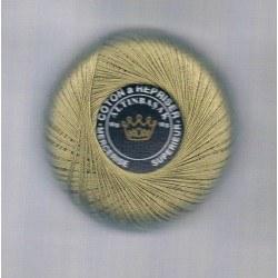 Darning cotton thread dark beige