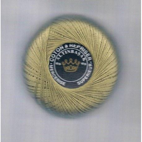 Coton à repriser beige foncé