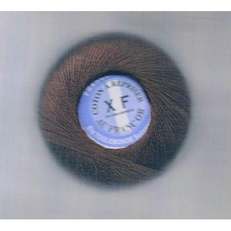 Coton à repriser marron foncé
