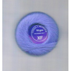 Darning cotton thread clear blue