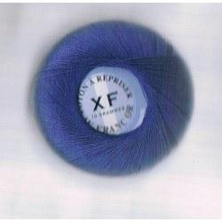 Coton à repriser bleu nattier