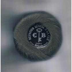 Coton à repriser gris foncé