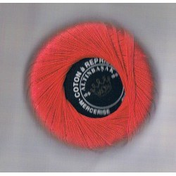 Darning cotton thread red