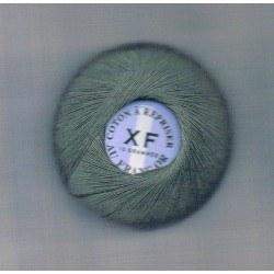 Coton à repriser vert chasse