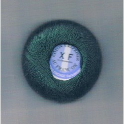 Coton à repriser vert foncé
