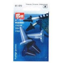 Protège- pointes pour les aiguilles à tricoter