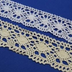 Naturel crochet Lace 50mm