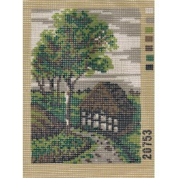 Tapestry Canvas Kit 14x20cm