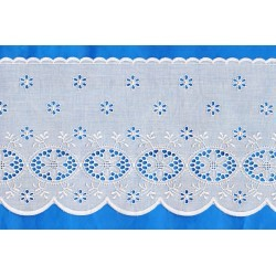 Naturel Eyelet Lace 160mm