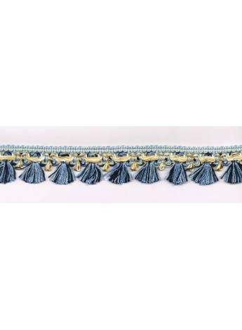 Frange bleu antique