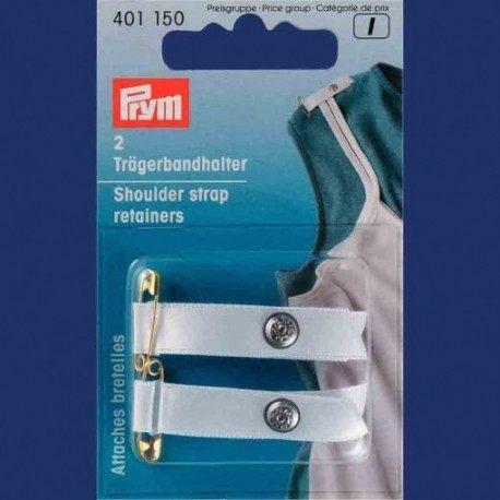 Attaches bretelles Blanc (2)