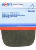 Iron-on knee patches (2) khaki