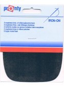 Iron-on knee patches (2) dark brown